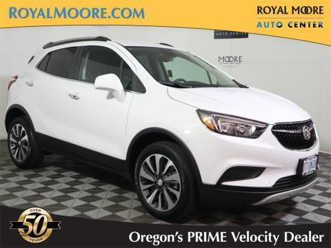 2021 Buick Encore for sale at Royal Moore Custom Finance in Hillsboro OR