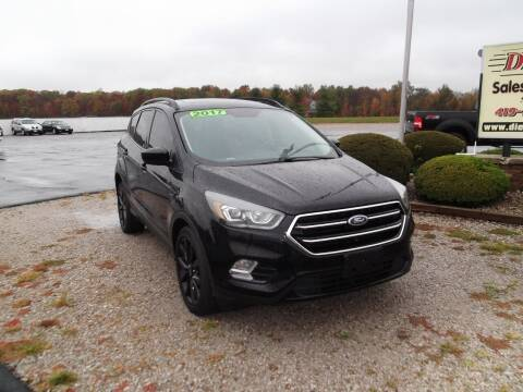 2017 Ford Escape for sale at Dietsch Sales & Svc Inc in Edgerton OH