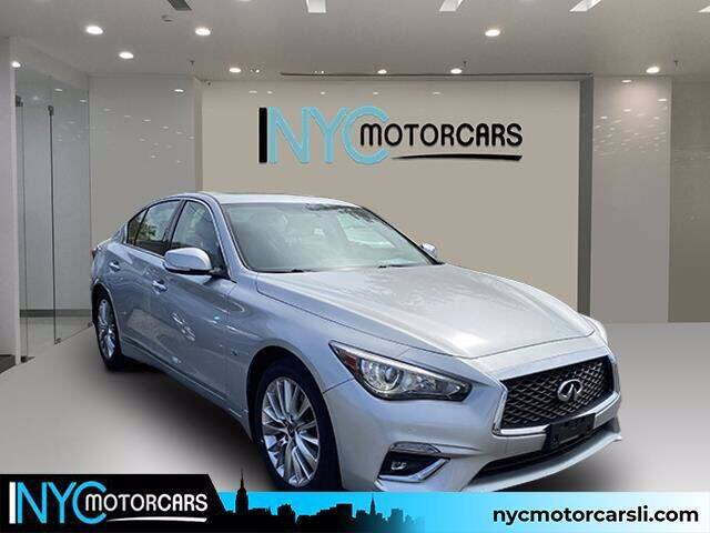 2018 Infiniti Q50 for sale at NYC Motorcars in Freeport NY