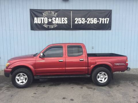 2003 Toyota Tacoma for sale at Austin's Auto Sales in Edgewood WA