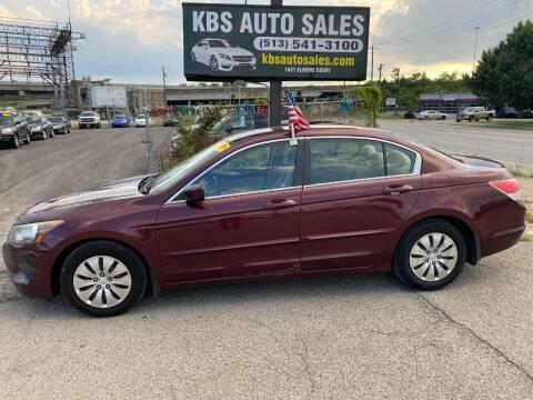 2010 Honda Accord for sale at KBS Auto Sales in Cincinnati OH