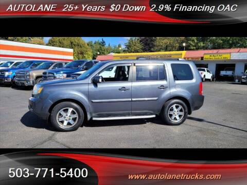 2010 Honda Pilot for sale at Auto Lane in Portland OR