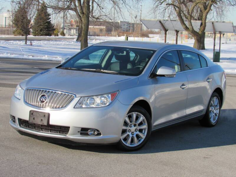 2012 Buick LaCrosse for sale at Highland Luxury in Highland IN