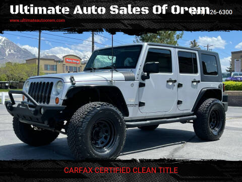 2007 Jeep Wrangler Unlimited for sale at Ultimate Auto Sales Of Orem in Orem UT