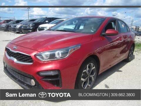 2020 Kia Forte for sale at Sam Leman Toyota Bloomington in Bloomington IL
