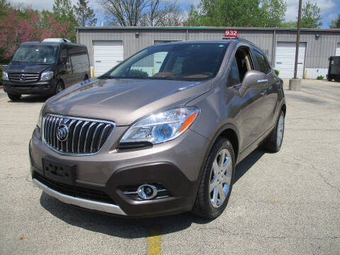 2014 Buick Encore for sale at Triangle Auto Sales in Elgin IL