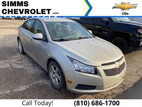 2014 Chevrolet Cruze for sale at Aaron Adams @ Simms Chevrolet in Clio MI