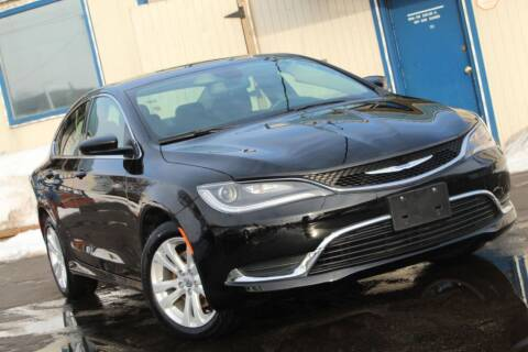 2016 Chrysler 200 for sale at Dynamics Auto Sale in Highland IN