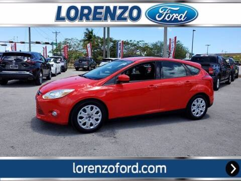 2012 Ford Focus for sale at Lorenzo Ford in Homestead FL