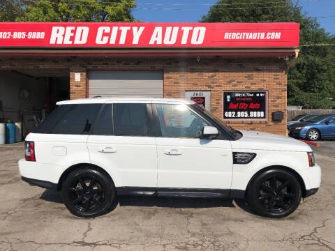 2012 Land Rover Range Rover Sport for sale at Red City  Auto in Omaha NE