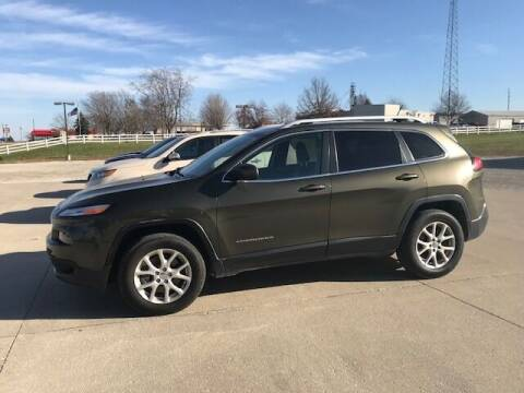 2014 Jeep Cherokee for sale at Lannys Autos in Winterset IA