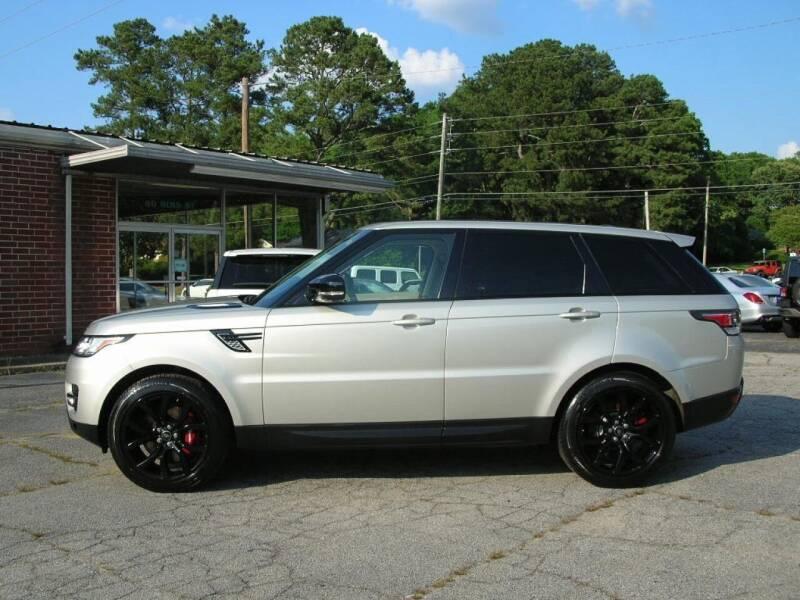 2014 Land Rover Range Rover Sport for sale at South Atlanta Motorsports in Mcdonough GA