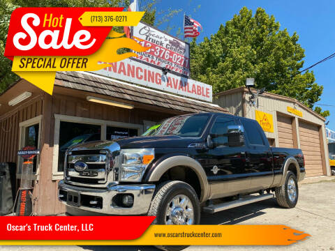 2013 Ford F-250 Super Duty for sale at Oscar's Truck Center, LLC in Houston TX