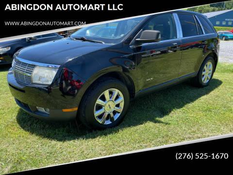 2007 Lincoln MKX for sale at ABINGDON AUTOMART LLC in Abingdon VA