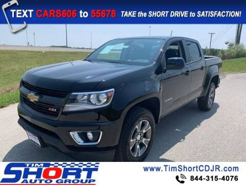 2020 Chevrolet Colorado for sale at Tim Short Chrysler in Morehead KY