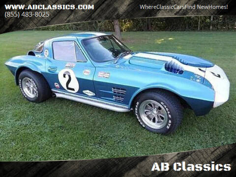1963 Chevrolet Corvette for sale at AB Classics in Malone NY