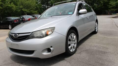 2011 Subaru Impreza for sale at NORCROSS MOTORSPORTS in Norcross GA