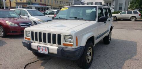 2000 Jeep Cherokee for sale at Union Street Auto in Manchester NH