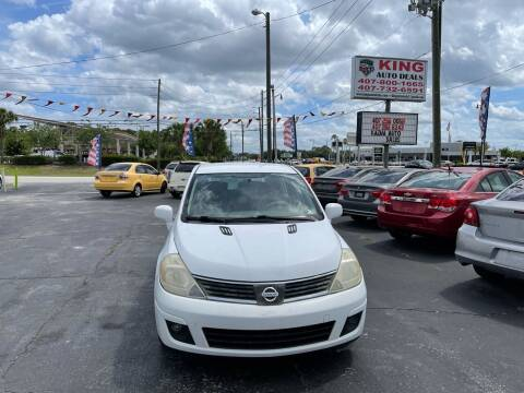2007 Nissan Versa for sale at King Auto Deals in Longwood FL