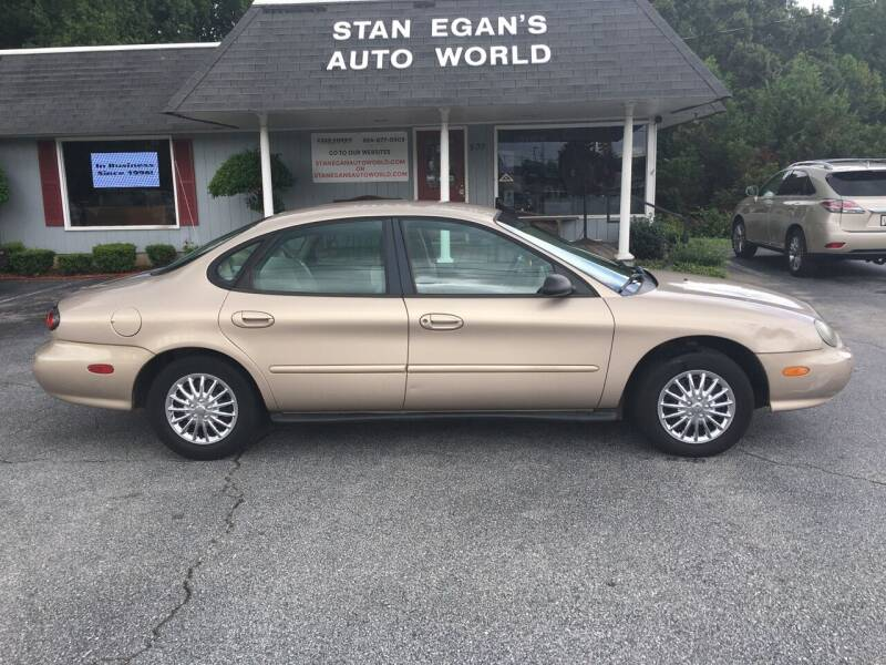 1999 Ford Taurus for sale at STAN EGAN'S AUTO WORLD, INC. in Greer SC