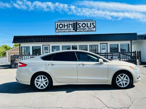 2015 Ford Fusion for sale at John Solis Automotive Village in Idaho Falls ID