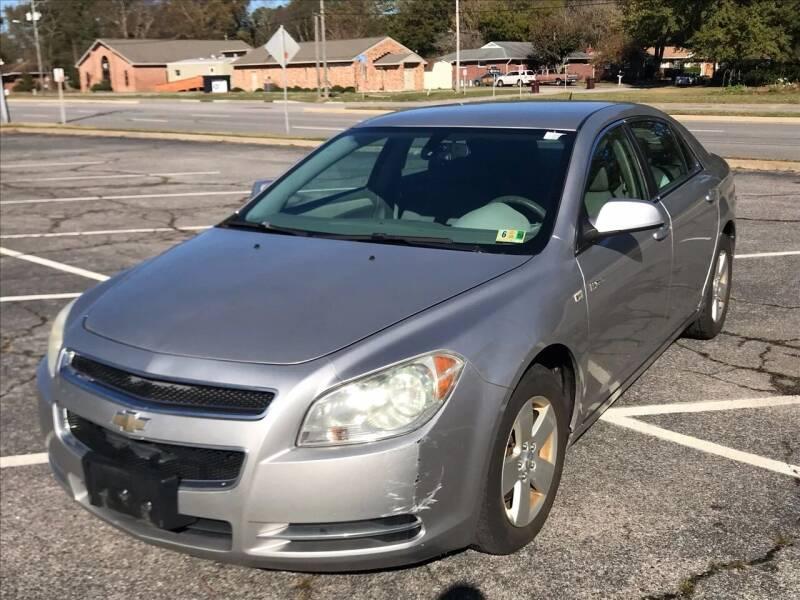 2008 Chevrolet Malibu Hybrid for sale at Carpro Auto Sales in Chesapeake VA