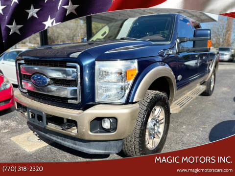 2013 Ford F-250 Super Duty for sale at Magic Motors Inc. in Snellville GA