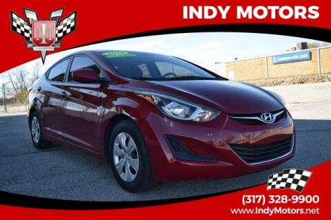2016 Hyundai Elantra for sale at Indy Motors Inc in Indianapolis IN
