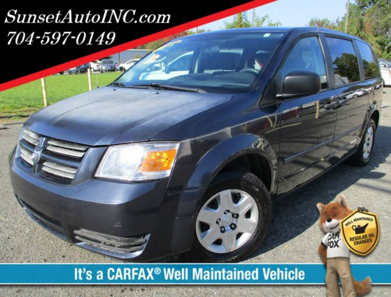 2008 Dodge Grand Caravan for sale at Sunset Auto in Charlotte NC