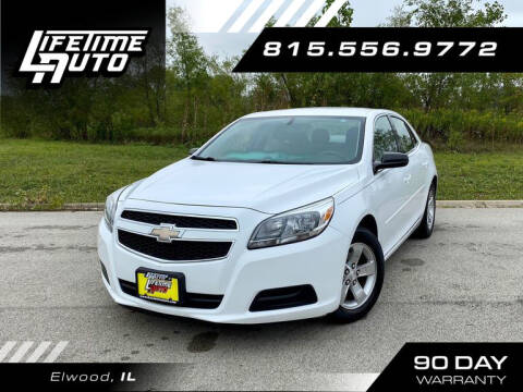 2013 Chevrolet Malibu for sale at Lifetime Auto in Elwood IL