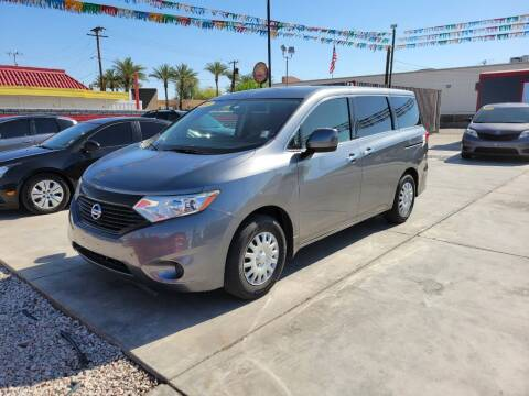 2015 Nissan Quest for sale at A AND A AUTO SALES in Gadsden AZ