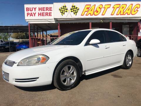 2014 Chevrolet Impala Limited for sale at Fast Trac Auto Sales in Phoenix AZ