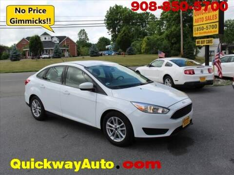2018 Ford Focus for sale at Quickway Auto Sales in Hackettstown NJ