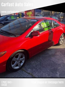 2006 Honda Civic for sale at Carfast Auto Sales in Dolton IL
