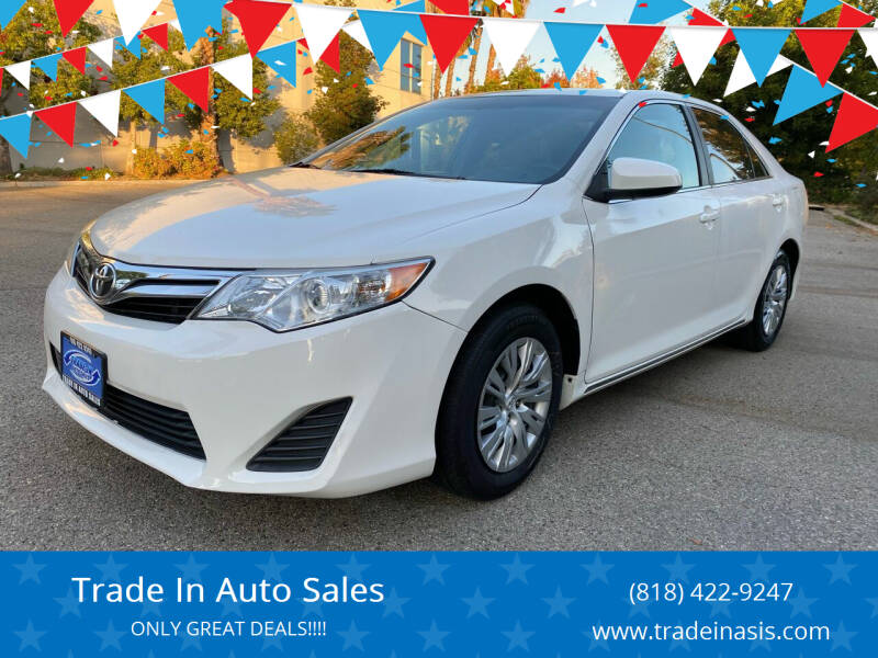 2013 Toyota Camry for sale at Trade In Auto Sales in Van Nuys CA