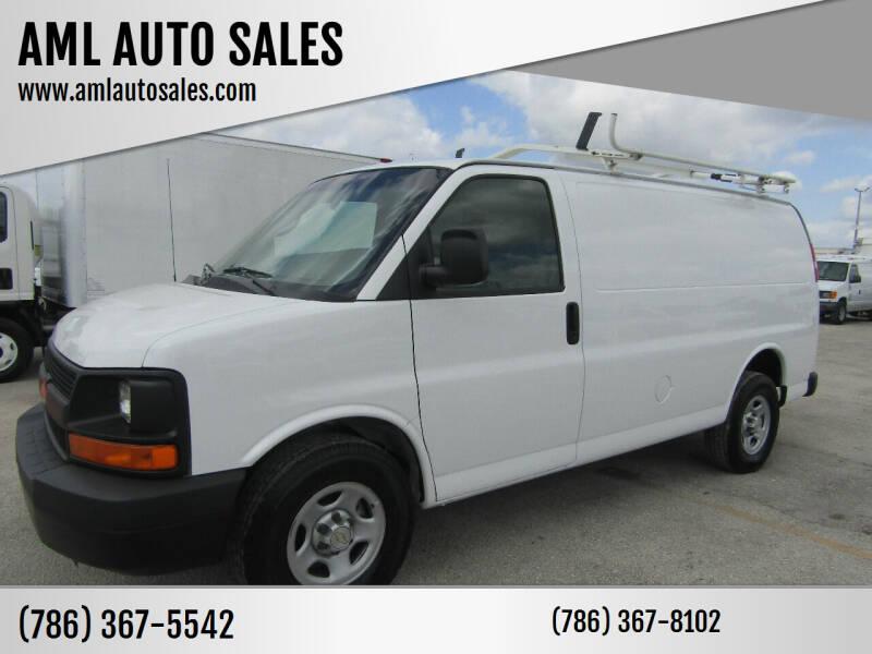 2008 Chevrolet Express Cargo for sale at AML AUTO SALES - Cargo Vans in Opa-Locka FL