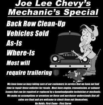 2003 Chevrolet TrailBlazer for sale at Joe Lee Chevrolet in Clinton AR