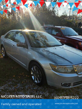 2009 Lincoln MKZ for sale at NICOLES AUTO SALES LLC in Cream Ridge NJ