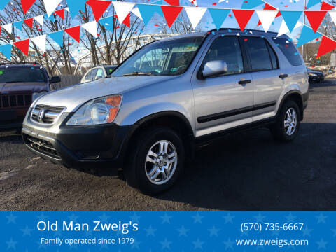 2002 Honda CR-V for sale at Old Man Zweig's in Plymouth Township PA