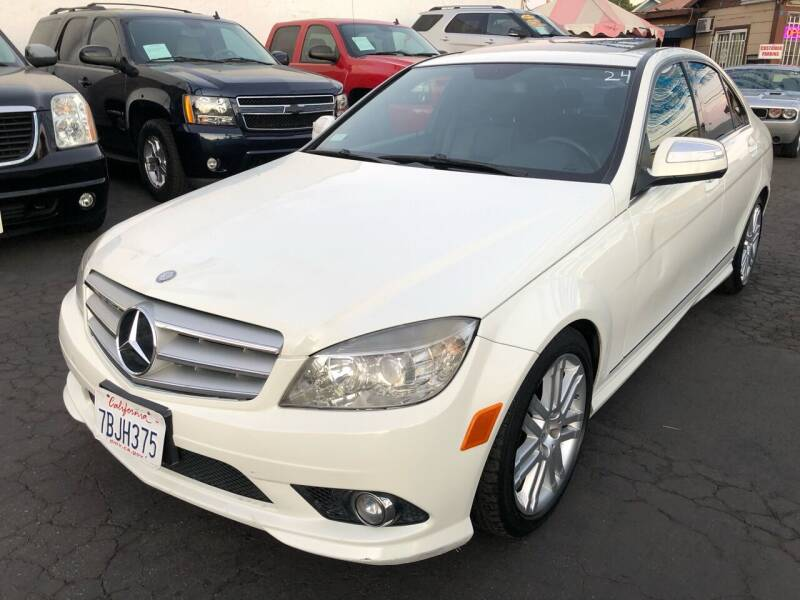 2009 Mercedes-Benz C-Class for sale at Plaza Auto Sales in Los Angeles CA