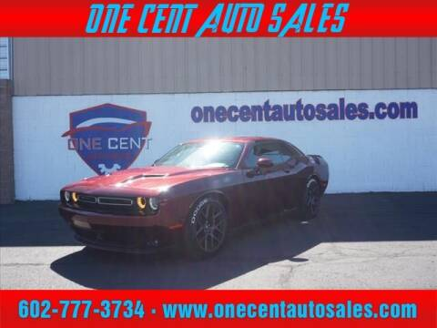2018 Dodge Challenger for sale at One Cent Auto Sales in Glendale AZ