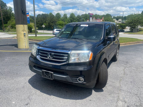 2013 Honda Pilot for sale at BRAVA AUTO BROKERS LLC in Clarkston GA