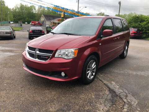 2014 Dodge Grand Caravan for sale at Riley Auto Sales LLC in Nelsonville OH