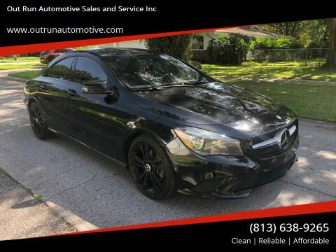 2015 Mercedes-Benz CLA for sale at Out Run Automotive Sales and Service Inc in Tampa FL