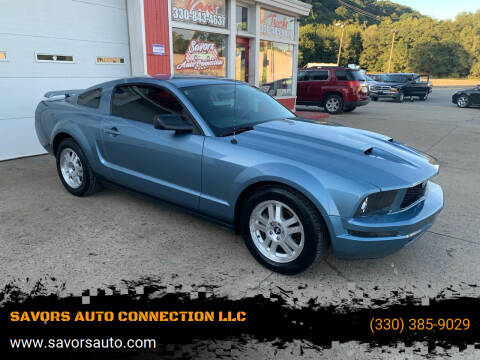 2007 Ford Mustang for sale at SAVORS AUTO CONNECTION LLC in East Liverpool OH