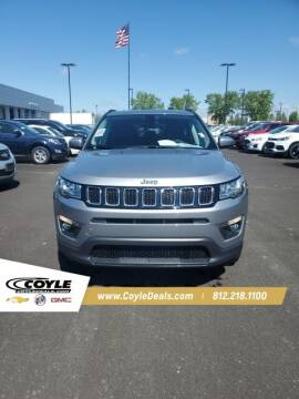 2018 Jeep Compass for sale at COYLE GM - COYLE NISSAN - New Inventory in Clarksville IN