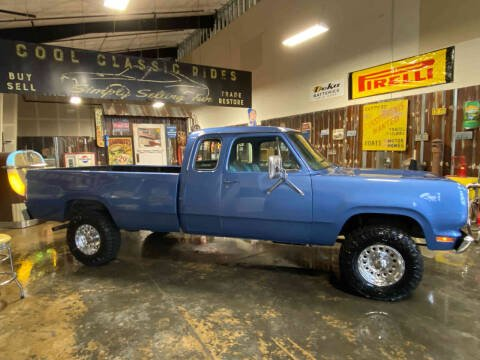 1977 Dodge W-200 4X4 Club Cab for sale at Cool Classic Rides in Redmond OR