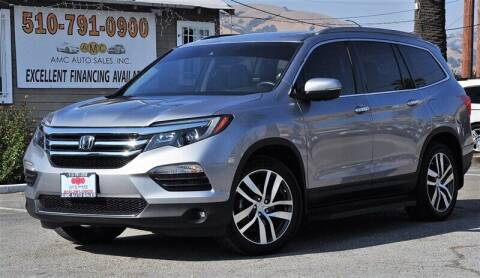 2016 Honda Pilot for sale at AMC Auto Sales, Inc. in Fremont CA