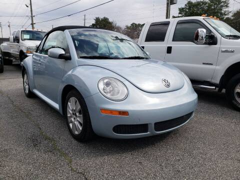 2010 Volkswagen New Beetle Convertible for sale at M & A Motors LLC in Marietta GA