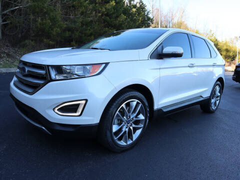 2018 Ford Edge for sale at RUSTY WALLACE KIA OF KNOXVILLE in Knoxville TN
